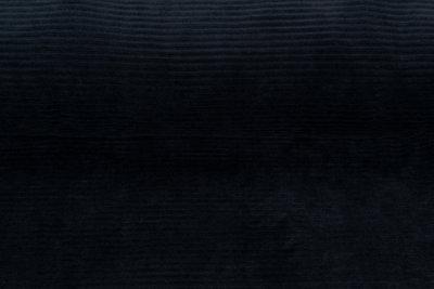 Rib jersey breed donkerblauw