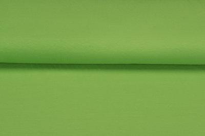 Katoenen Tricot limegroen