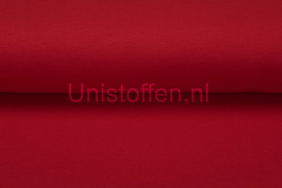 Katoenen Tricot rood
