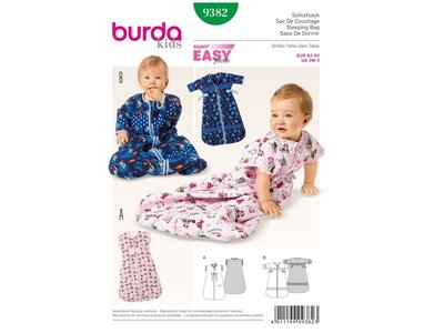 Naaipatroon Burda 9382