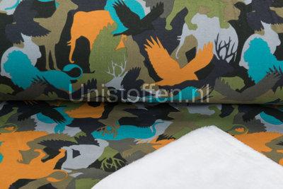 Jogging bedrukt NA208 Camouflage Animals