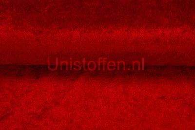 Velour de Panne,rood