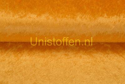 Velour de Panne,oranje/geel