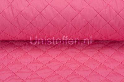 Gewatteerde voering,neon roze