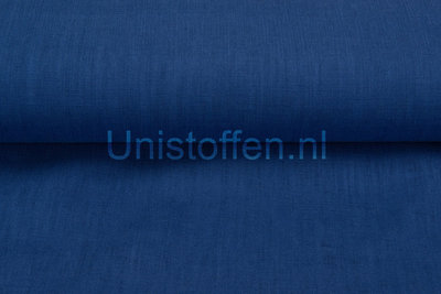 Linnen,kobaltblauw 1