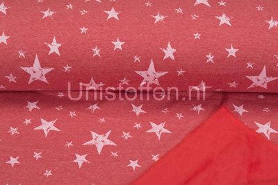 Alpenfleece bedrukt NA401 Summer Vintage Star