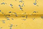 Alpenfleece-bedrukt-NA285-Colored-Crane-Bird